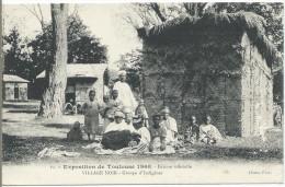 Exposition De TOULOUSE 1908 - Village Noir - Groupe D'Indigènes - Toulouse