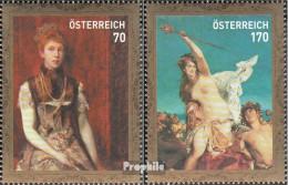 Österreich 2939-2940 (kompl.Ausg.) Postfrisch 2011 Hans Makart - 1945-.... 2. Republik