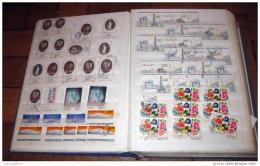 Mise A Prix 1 Euro France  - Classeur De Stock - 55 Pages Remplies De Timbres 1960/2005 (31) - Sammlungen