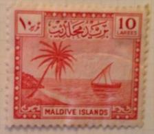 Maldives MH* - 1950 - Sc # 24 - Malediven (...-1965)