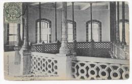 (RECTO / VERSO) LUXEUIL EN 1907 - LES BAINS - CACHET AMBULANT TRI FERROVIAIRE AILLEVILLERS A LURE - PLI ANGLE BAS A G. - Luxeuil Les Bains