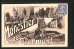 CPA Monestier-de-Clermont, Diverses Vues - France