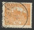 Czechoslovakia, 60 H. 1919, Sc # 50, Mi # 20, Used, Fryvaldov - Czechoslovakia