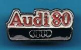 1 PIN´S //  ** LOGO ** AUDI 80 ** - Audi