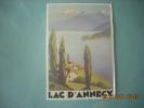 CLOUET  10058  LAC D ANNECY  AFFICHE  CHEMIN DE FER P.L.M        BRODERS - Werbepostkarten