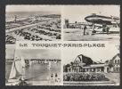 DF / 62 PAS DE CALAIS / LE TOUQUET-PARIS-PLAGE / LA PISCINE ET LA PLAGE, L'AÉROPORT, LES RÉGATRES ET LE CASINO / 1968 - Le Touquet