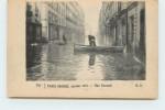 PARIS -   Crue De Janvier 1910, Rue Surcouf. - Alluvioni Del 1910