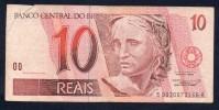 BRASILE - 1994 10 REAIS - Brésil