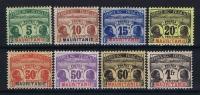 MAURITANIE Yv Nr TAXE 9 - 16  MH/* Avec  Charnière - Mauritania (1906-1944)