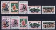 MAURITANIE I - V Version 1 + 2   MH/* Avec  Charnière  Partly Signed - Mauritanie (1960-...)