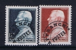 MONACO:  Mi Nr 378V + 379V AFFRANCH Ts  Avec  Charnière  1948 - Monaco