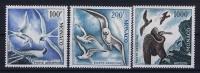 MONACO:  Mi Nr 502B - 504B  Yv AE 66 - 68  Avec Charnière  1955 Oiseaux Birds Perfo 13
