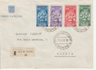 Vaticano 1941 - Racommandata Registered Recommandée - Cover Lettre Brief - 2 Scans - Lettres & Documents