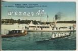 """Grünau I. Mark. V.1914 Ruder Ragatta,-Königs Familie Nebst Ihren Gästen An Bord Der """"Alexandria""""  (8835) - Koepenick"""