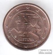 Litauen LIT 1 2015 Stgl./unzirkuliert Stgl./unzirkuliert 2015 Kursmünze 1 Cent - Lithuania