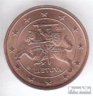 Litauen LIT 2 2015 Stgl./unzirkuliert Stgl./unzirkuliert 2015 Kursmünze 2 Cent - Lithuania