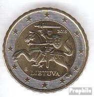 Litauen LIT 4 2015 Stgl./unzirkuliert Stgl./unzirkuliert 2015 Kursmünze 10 Cent - Litauen