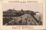 CHROMO CHICOREE A LA BERGERE EMILE BONZEL A HAUBOURDIN SAINT MALO LE CASINO ET LE SILLON - Tea & Coffee Manufacturers