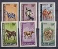 Mauretanie Animals 6v ** Mnh IMPERFORATED (25050) - Mauritanië (1960-...)