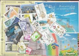 Kasachstan 1999 Postfrisch Kompletter Jahrgang In Sauberer Erhaltung - Kasachstan