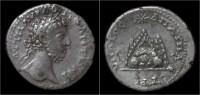 Commodus AR Didrachm Mount Argaios - Romaines