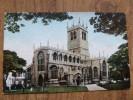 47140 POSTCARD: NOTTINGHAMSHIRE: Retford Church. - England