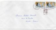 """2014--lettre Avec Paire De Timbres Surtaxés """"LA PEROUSE"""" Et Cplt Marianne De Ciappa Kavena--utilisation Tardive - Marcophilie (Lettres)"""