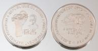 Bénin 6000 CFA 2003 Kerekou VIP Argent Pur .999 Président - Benin