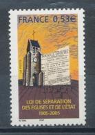 3860** Séparation Des Eglises Et De L'Etat - Unused Stamps