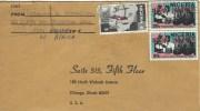 Nigeria 1976 Jos Map Postage Stamp Centenary Health Vaccine Production Cover - Nigeria (1961-...)