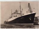 """AK Schiff """"MS Berlin"""" Am Columbuskai In Bremerhaven, Norddeutscher Lloyd, Ca. 1955 - Dampfer"""