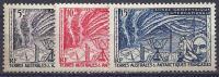 ANTARTIDA FRANCESA 1957 - Yvert #8/10 - MNH ** - Tierras Australes Y Antárticas Francesas (TAAF)