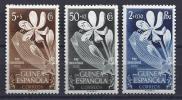 ESPAÑA/GUINEA 1952 - Edifil #314/16 - MNH ** - Spaans-Guinea