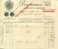 Manufacture De Chaussures Peyronnet à Nantes - 4 Juillet1896 - Frankreich