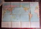 Carta Degli OCEANI. Consociazione Turistica Italiana (Gli Imperi Coloniali Nel Mondo Al 1°Settembre 1939) 1941 - Mappe