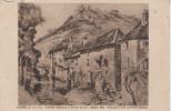 SALON  1931 - HUMBLOT  ( H.C ) - Vieilles  Maisons  à  Salins ( Jura ).Haut  Carte  Abimé  à  Gauche. - Manifestazioni