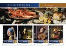 MALDIVES 2015 - Dutch Golden Age, Shells. Official Issue - Schaaldieren