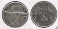 BELGICA BELGIQUE FLAMENCO  FRANC 1886 PLATA SILVER X - 07. 1 Franco