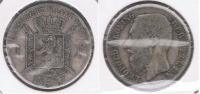 BELGICA BELGIQUE FLAMENCO  FRANC 1887 PLATA SILVER X - 1865-1909: Leopoldo II