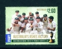 AUSTRALIA  -  2014  Ashes Victory  $2.60  International Post  Used As Scan - Usati