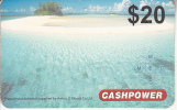 MARSHALL ISLANDS - Cashpower By M.E.C. Prepaid Card $20, Used - Marshall Islands