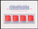 CZECHOSLOVAKIA 1982 Mi Block46 MNH 70th Anniv Of Prague Conference Of Russian Social-Democrate Party - Unused Stamps
