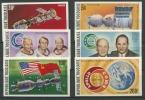 Togo 1975 Amerikanisch-sowjetische Raumfahrt 1110/15 B Postfrisch - Togo (1960-...)
