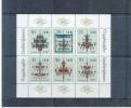 Deutschland , DDR , Germany  , 1989 , ** , MNH , Postfrisch ,  Mi.Nr. 3289 - 3294  ,  Kleinbogen - [6] République Démocratique