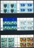 UNO Wien - Mi 1 / 6 4er-ECKEN LIO Mit Emblem - ** Postfrisch (C) - Freimarken 79 - Ongebruikt