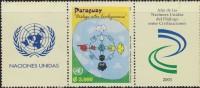 O) 2001 PARAGUAY, DIALOGUE  AMONG CIVILIZATION, UNITED NATIONS,  MNH - Paraguay