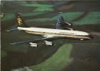 Aviation Postcard Caledonian BUA Boeing 707 Aircraft 707-320c - 1946-....: Moderne
