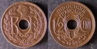 INDOCHINE  1/2 Cent 1935   INDOCHINA   INDOCINA  FRANCE   PORT OFFERT - Viêt-Nam