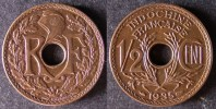 INDOCHINE  1/2 Cent 1935   INDOCHINA   INDOCINA  FRANCE   PORT OFFERT - Vietnam