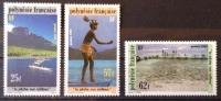French Polynesia  MNH ** 1991  - # 390/392 - French Polynesia